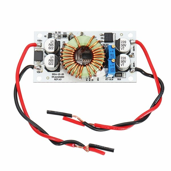 DC-DC 8.5-48V To 10-50V 10A 250W Continuous Adjustable High Power Boost Power Module Constant Voltage Constant Current Non-Isolation Step Up Board For Vehicle Laptop Power LED Driver