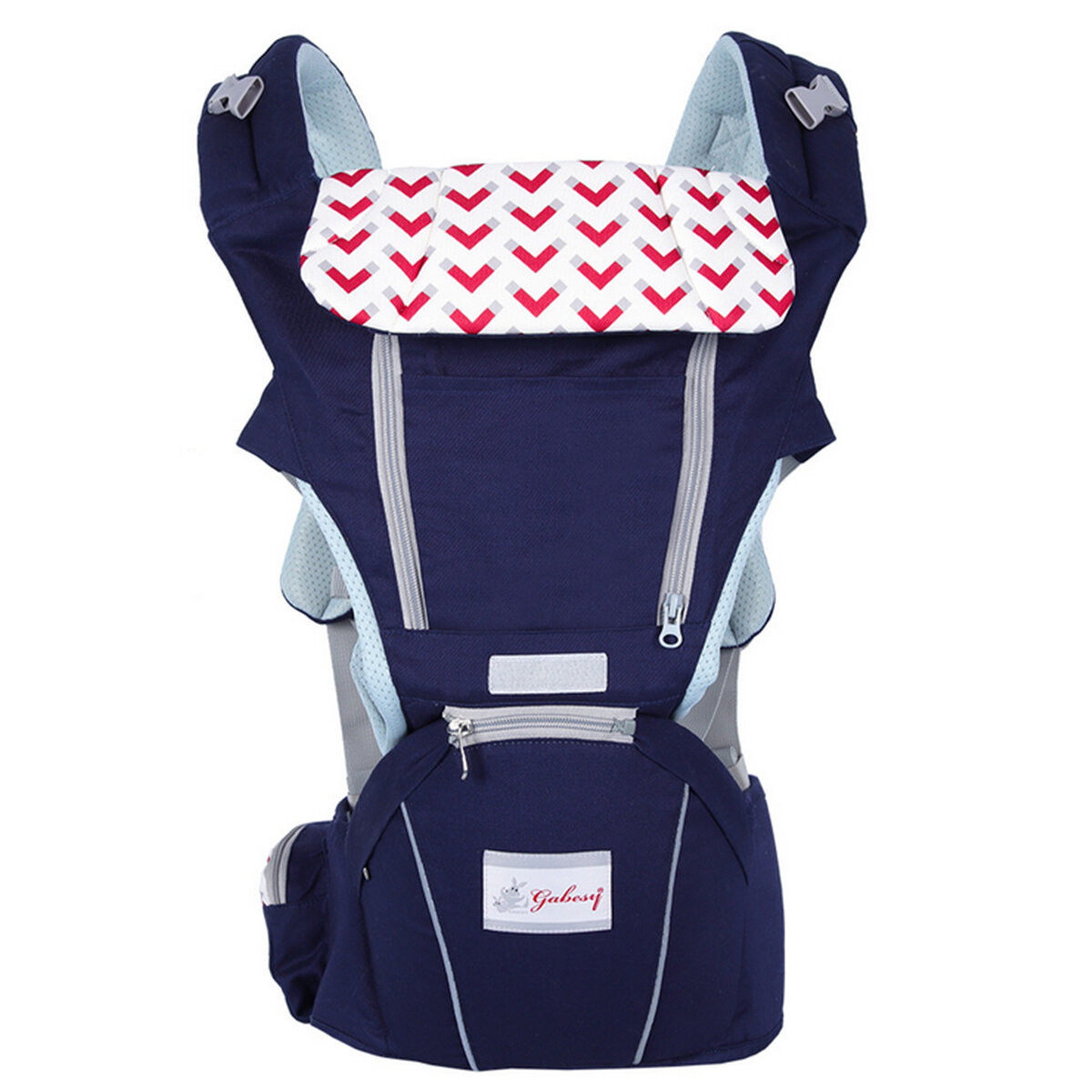 0 36 Months 3 in 1 Breathable Front Baby Carriers Waist Stool Infant Comfortable Wrap Sling Backpack - 5