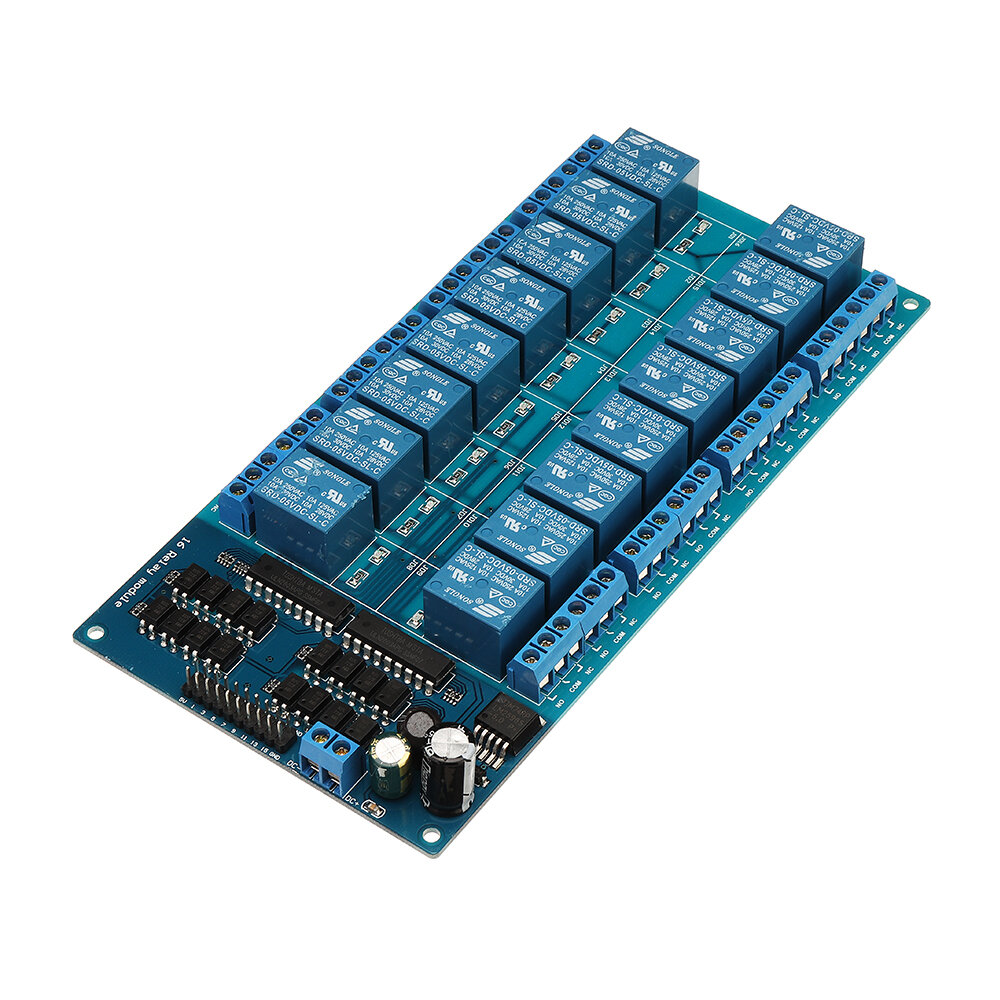 BESTEP 16 Channel 5V Relay Module LM2596 With Optocoupler Protection Low Level Trigger For Auduino