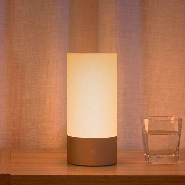 Control Sunset Simulation Wifi Table Lamp Sunrise Light Xiaomi Bluetooth Mjctd01yl Bedside Mijia Led bfY6y7g