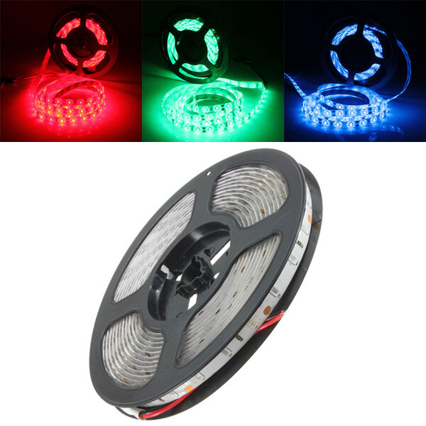 5M 90W DC 12V 300 SMD 5630 Waterproof Red/Green/Blue LED Strip Flexible Tape Light, Banggood  - buy with discount