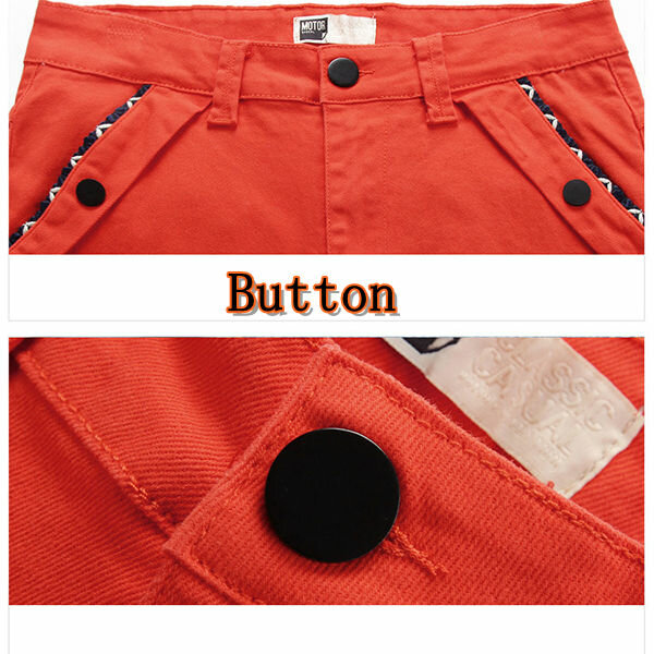 Big Size 30 44 Fashion Korean Casual Straight Slim Pants Men's Solid Color Trousers - 8