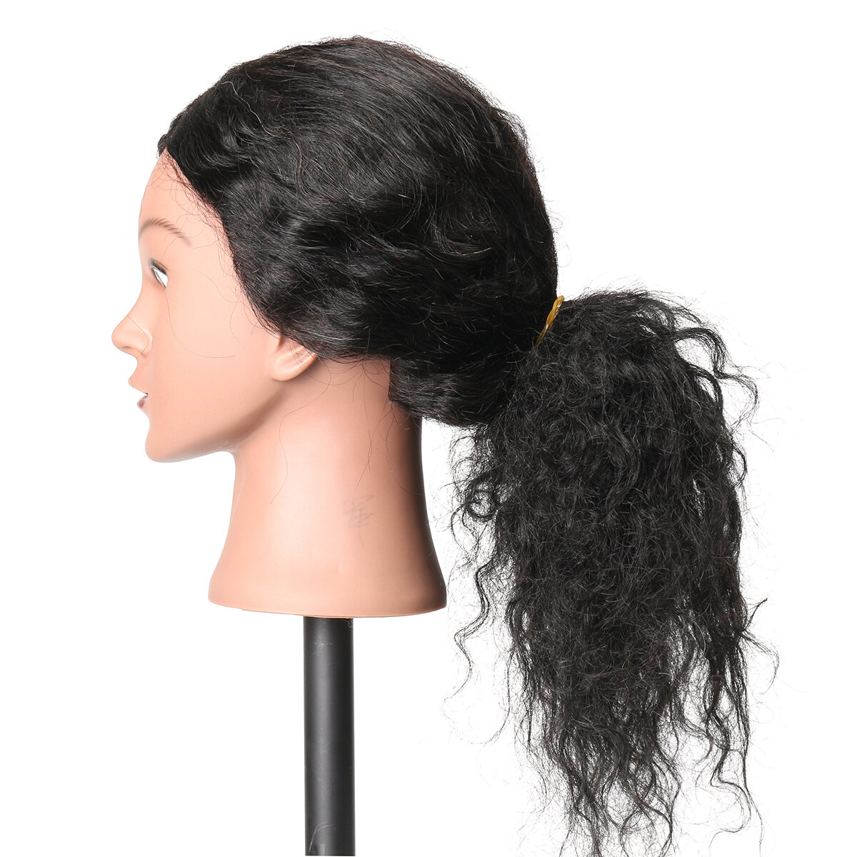 Female Plastic Mannequin Head Wig Hair Display Model Stand 3 Colors - 7