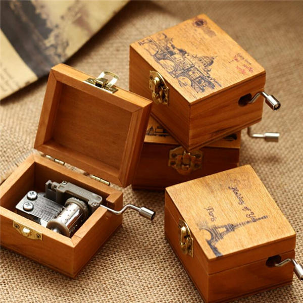 Treadle Sewing Machine Music Box Antique Gift Musical Education Toys Home Decor Fashion Accessories - 2