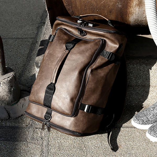 Men Large Capacity USB Outdoor Travel Backpack - 3