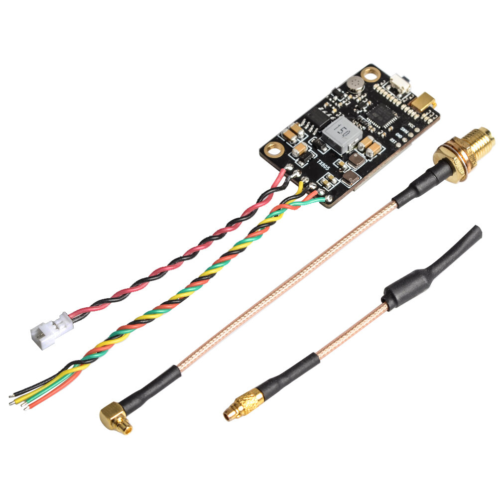 Eachine TX805 5.8G 40CH 25/200/600/800mW FPV Transmitter TX LED Display Support OSD/Pitmode/Smart Audio