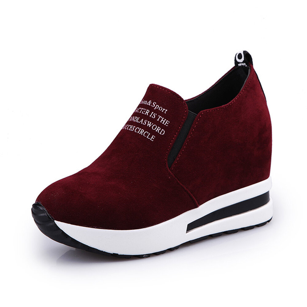Women Slip Resistant Air Cushion Comfy Boots Sneakers - 10