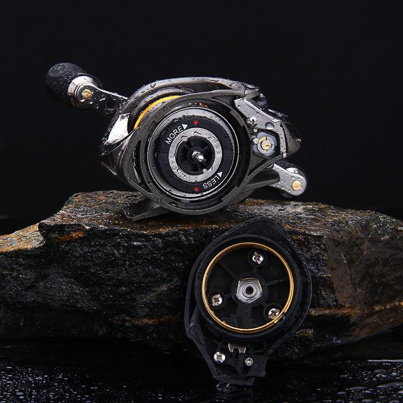 ZANLURE LF300 7.2:1 High Ratio Fishing Reel Left Right Hand 5.5kg Drag Saltwater Baitcasting Wheel - 7
