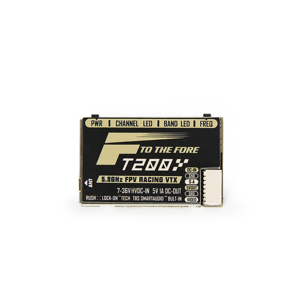 T-motor FT200 5.8G 25/50/200/500mW Switchable FPV Racing VTX Support Smart Audio for RC Drone