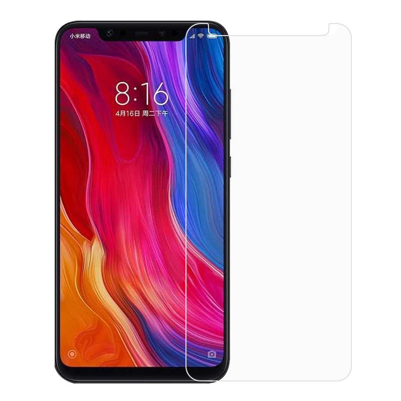 Mofi Anti-Explosion Tempered Glass Front & Back Screen Protector For Xiaomi Mi 8 / Mi 8 Pro / Xiaomi Mi 8 Explorer Edition