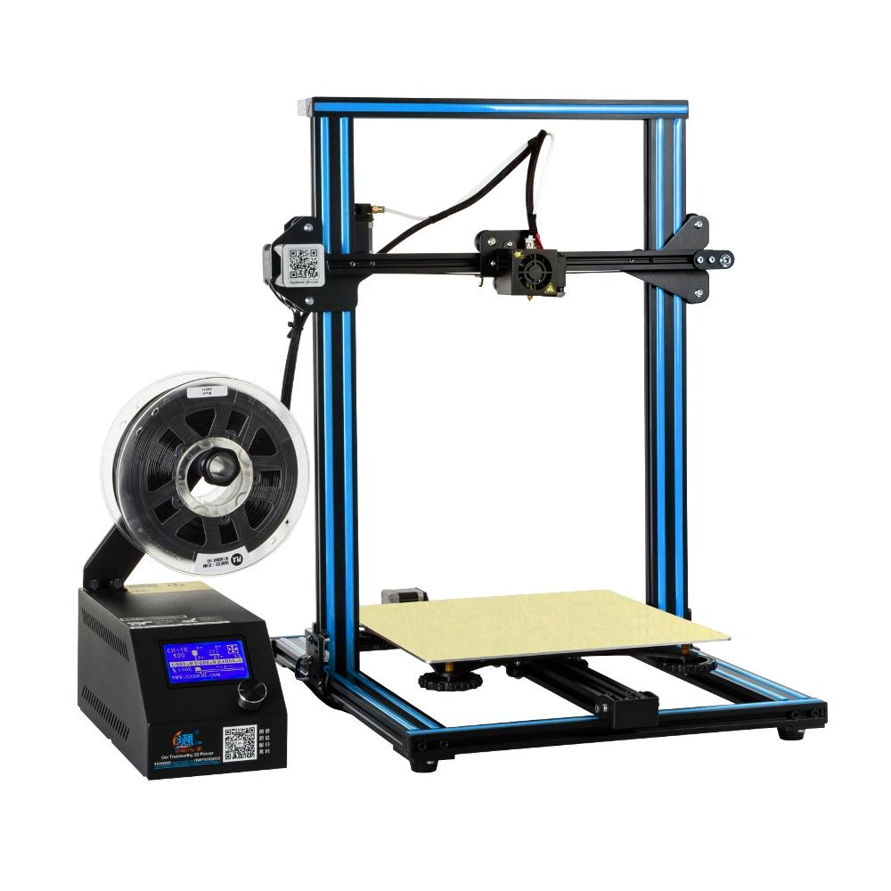 Creality 3D® Ender-5 Plus 3D Printer Kit 350*350*400mm Large Print Size Support Auto Bed Leveling/Resume Print/Filament Run-out Detection/Dual Z-Axis/4.3inch Display - 2