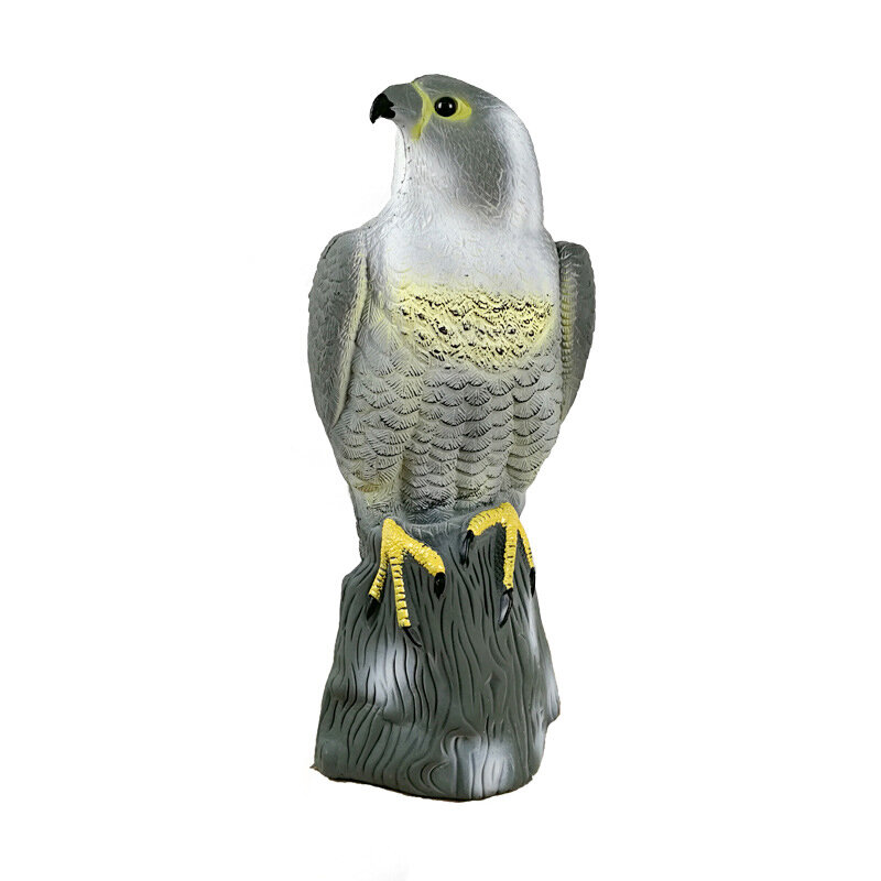 Outdoor PE Lifelike Realistic Eagle Hunting Decoy Training Shooting Target Animal Archery Target - 1