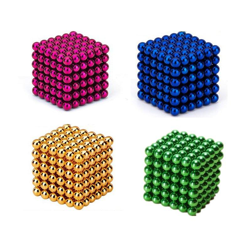 1000PCS Per Lot 5mm Magnetic Buck Ball Magnet Silver Intelligent Stress Reliever Toys Gift - 6