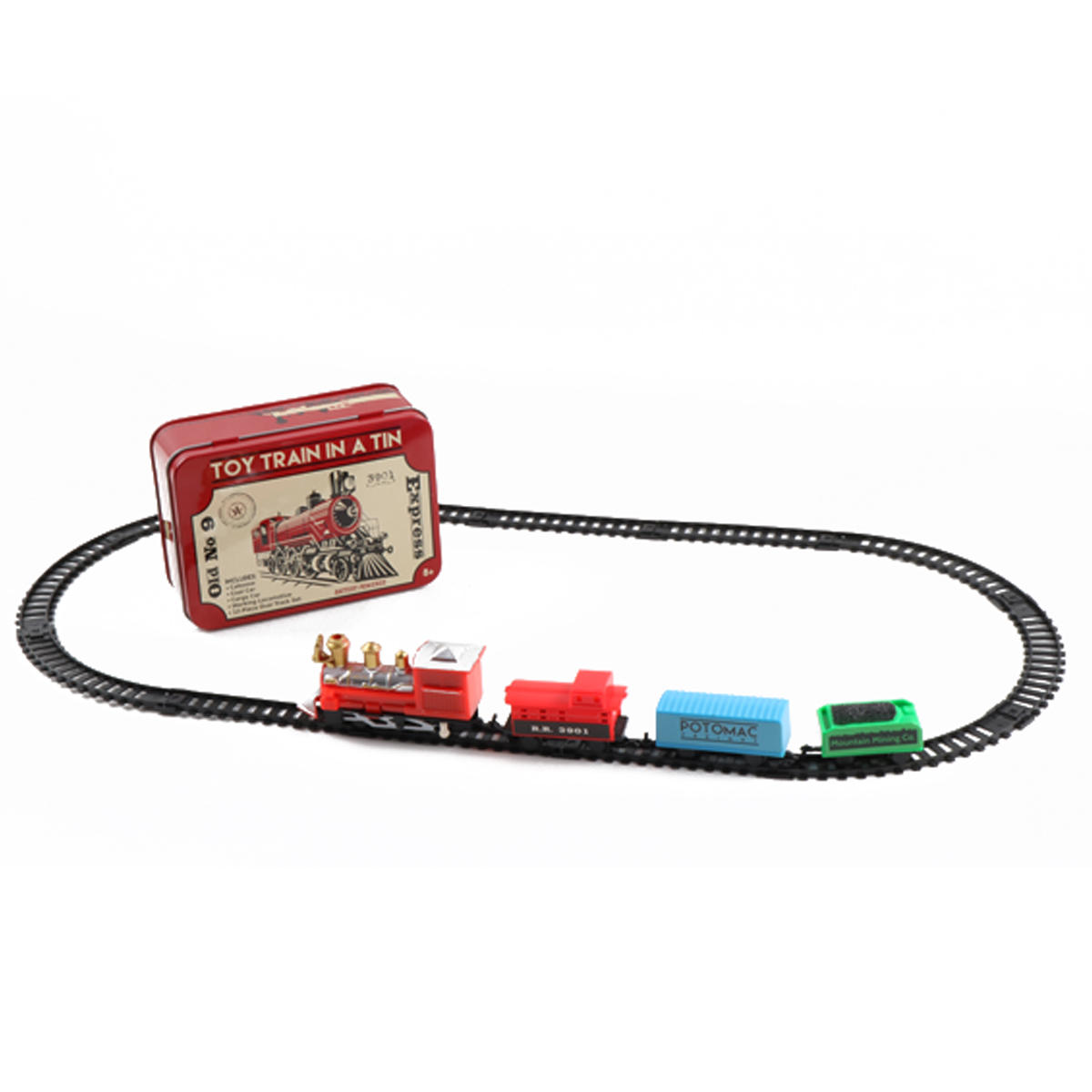 Christmas Train Set Track Toys Collection Gift Kid Developmental Toy