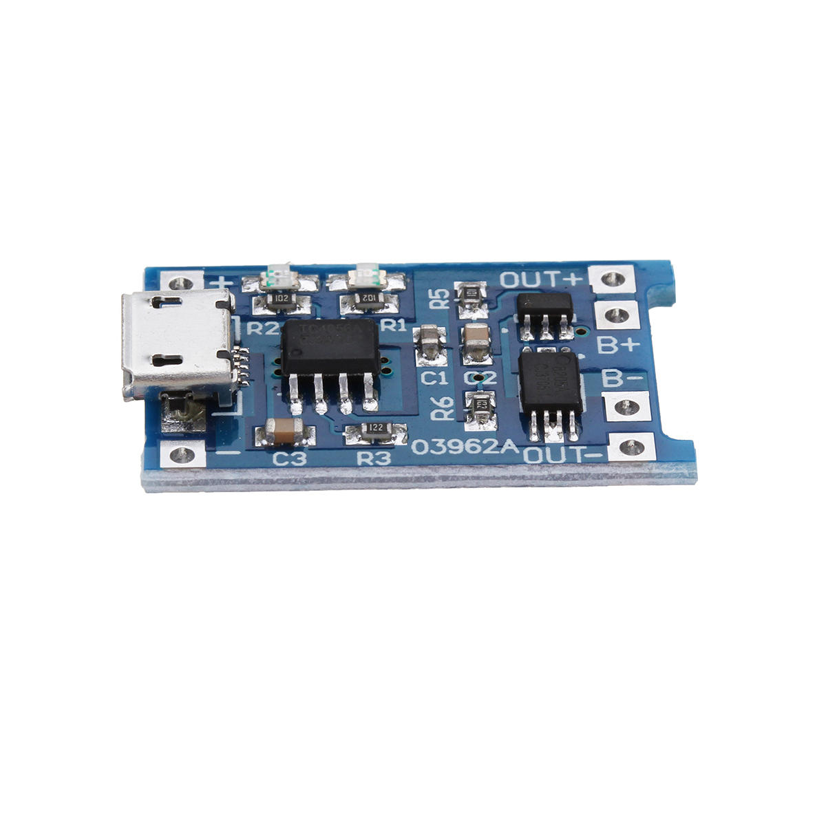 10Pcs 5V mini USB 1A 18650 TP4056 Lithium Battery Charging Board With Protect 9C