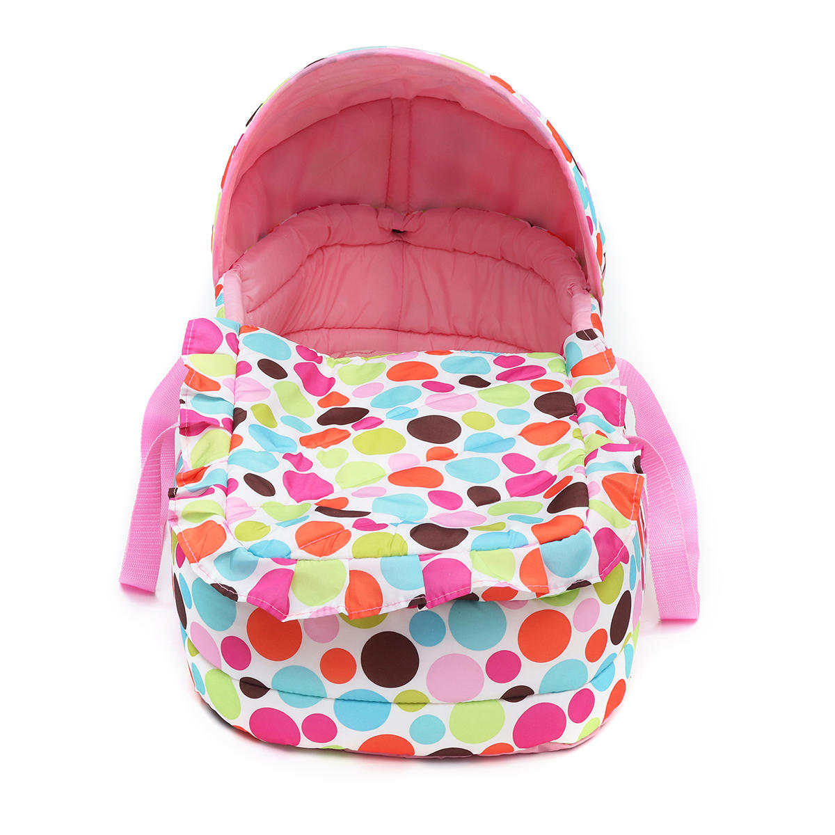 Portable Newborn Baby Infant Moses Basket Bed Baby Cradle Bassinet Travel Comfortable - 10