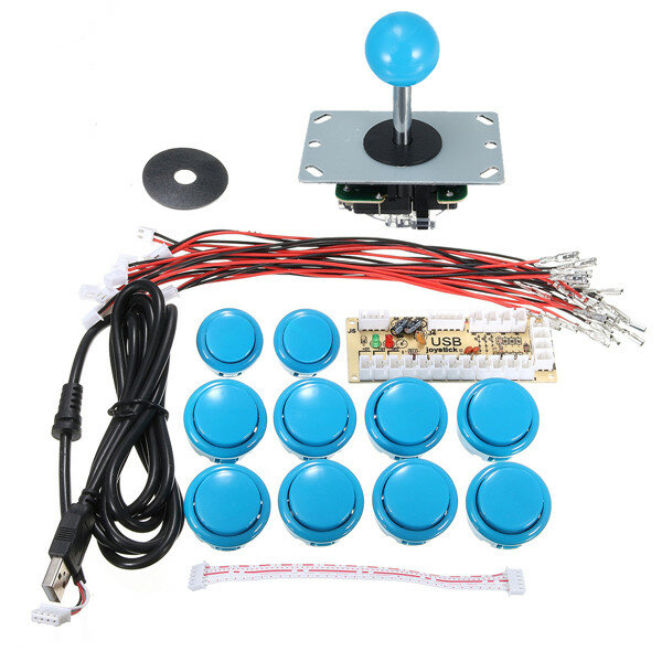Zero Delay Arcade Game Controller USB Joystick Kit for MAME