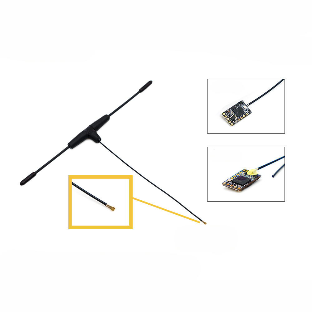 Original FrSky 868MHz Dipole T IPEX4 Receiver Antenna for R9 Mini / R9 MM  LBT Version RC Drone