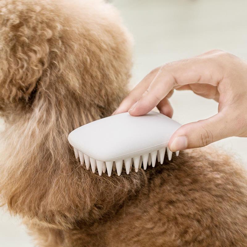 Jordan Judy Pet Sisir Silikon non-slip Pijat Grooming Cat Dog Sisir Pet Hair Removal Brush