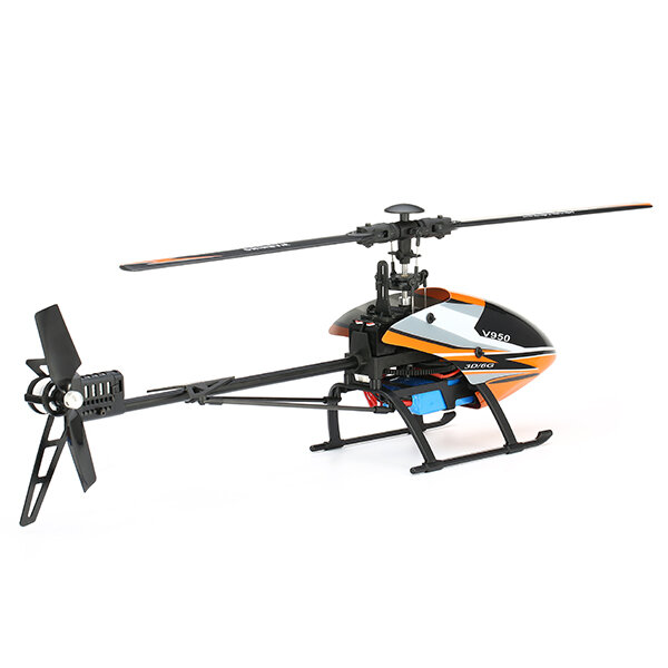 XK K123 6CH Brushless 3D6G System AS350 Scale RC Helicopter Compatible with FUTAB-A S-FHSS 4PCS 3.7V 500MAH Lipo Battery - 3