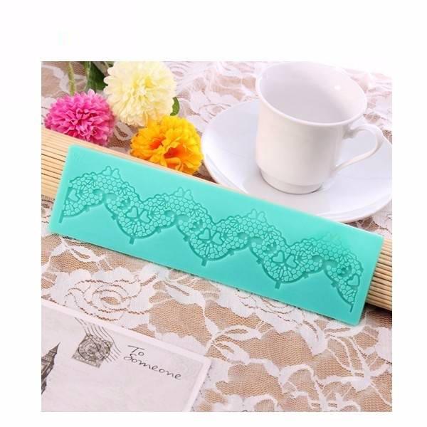 Silicone Lace Fondant Mold Cake Decorating Mould Gum Paste Sugarpaste Mold FDA LFGB фото