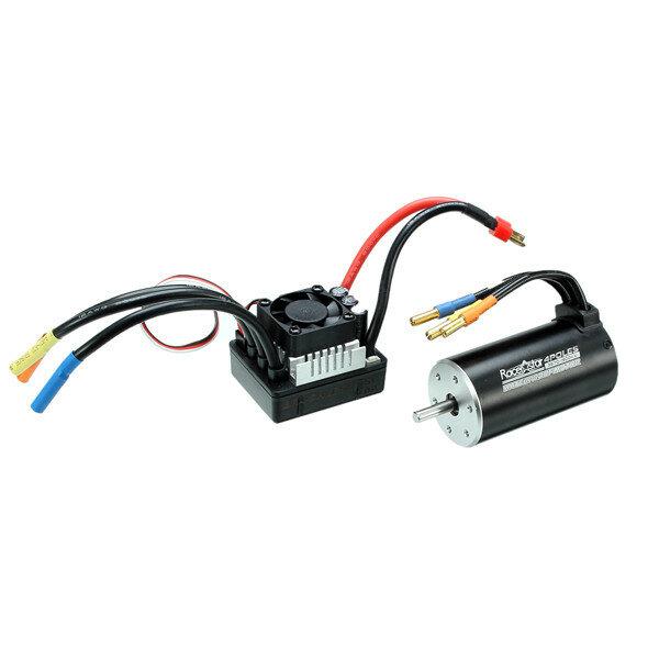 Racerstar 3670 Sensorless Waterproof Brushless Motor 120A ESC For 1/8 Car