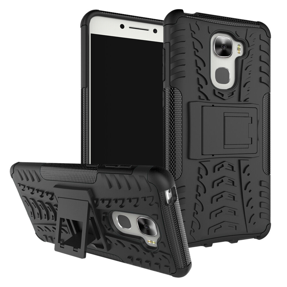 Bakeey Shockproof TPU+PC Armor 360° Rotation Holder Protective Case For LeTV LeEco Le Pro3 Elite