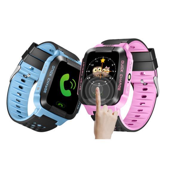 Bakeey Y21 Layar Sentuh Anak Kid LBS SOS Panggilan Lokasi Perangkat Tracker Smart Watch