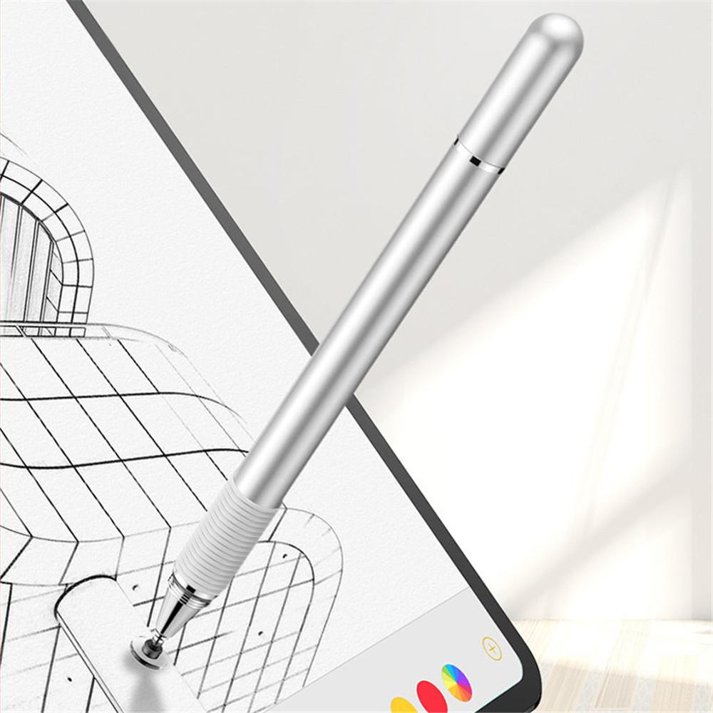 Baseus 2 in 1 Touch Screen Capacitive Stylus Drawing Pen for iPhone Mobile Phone Tablet PC