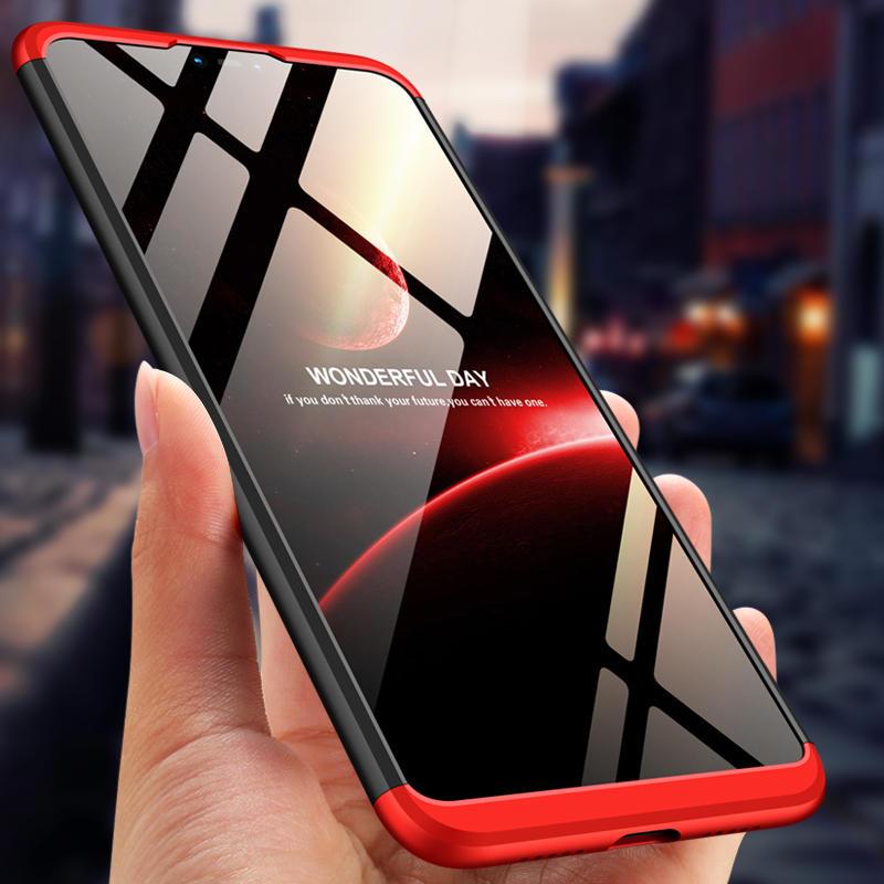 Bakeey ™ 3 en 1 ordenador personal doble protectora de inmersión dura 360 ° Caso para Xiaomi Mi8 Mi 8 Lite de 6.26 pulgadas