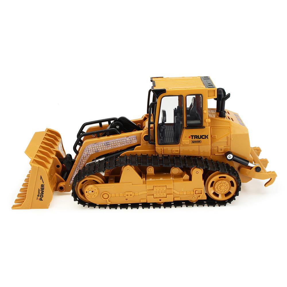 XiemingXM 6822L1/122.4G5CHRc Coche Camión excavadora Caterpillar Excavación de pista Modelo de simulación Juguetes - 5