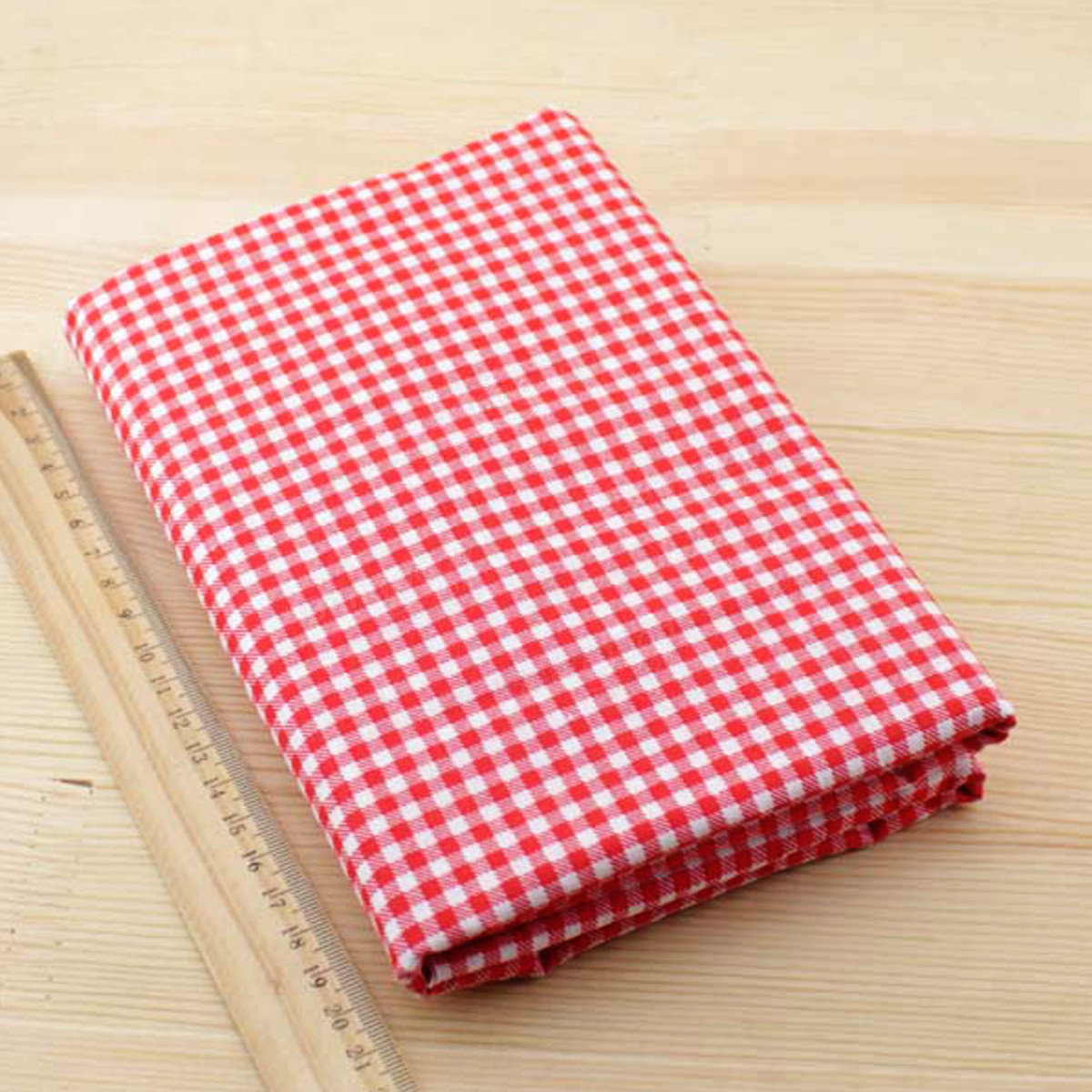 NEW Red Cotton 7 Assorted Pre Cut 10 Squares Quilt Fabric DIY Craft Sewing New
