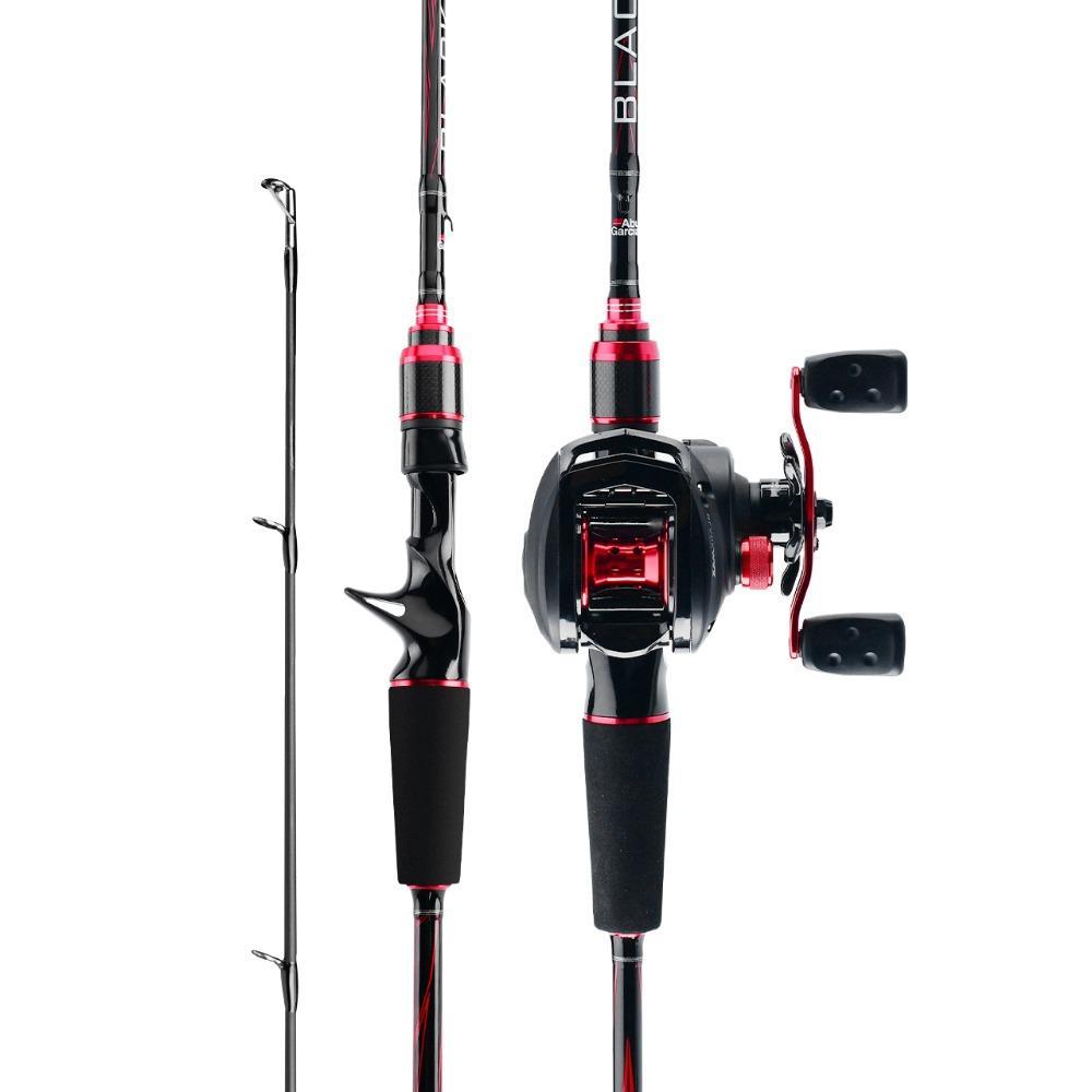 Original Abu Garcia New Black Max BMAX Baitcasting Lure Fishing Rod  2.13m  ML M H MH Power Carbon Casting Fishing Rod