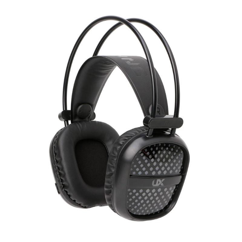 UX-A2 USB + 3.5 mm Audio estéreo LED Auriculares con auriculares retroiluminados para juegos con Micrófono