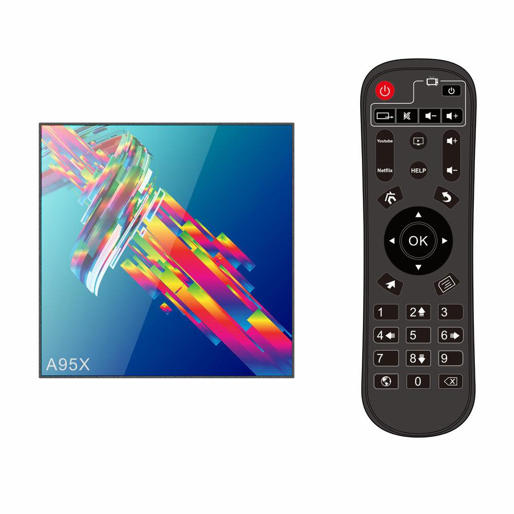 H96 MAX X2 Amlogic S905X2 4GB RAM 64GB ROM 5G WIFI USB 3.0 4K Android 8.1 Voice Control TV Box - 4