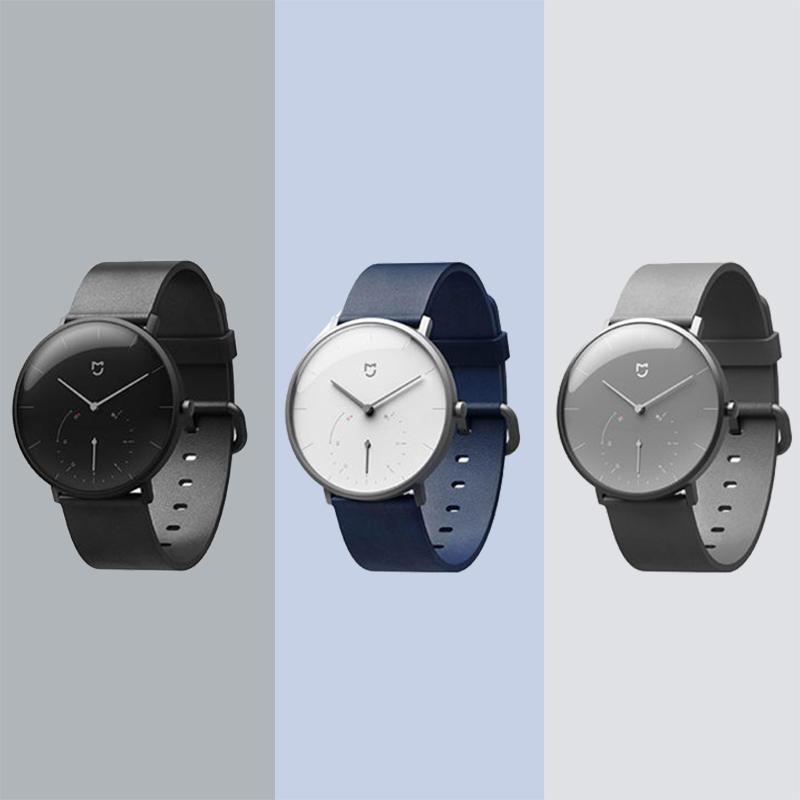Đồng hồ đeo tay thạch anh Xiaomi Mijia SYB01 Hai mặt số rung thông minh Nhắc nhở tập thể dục Đồng hồ thông minh