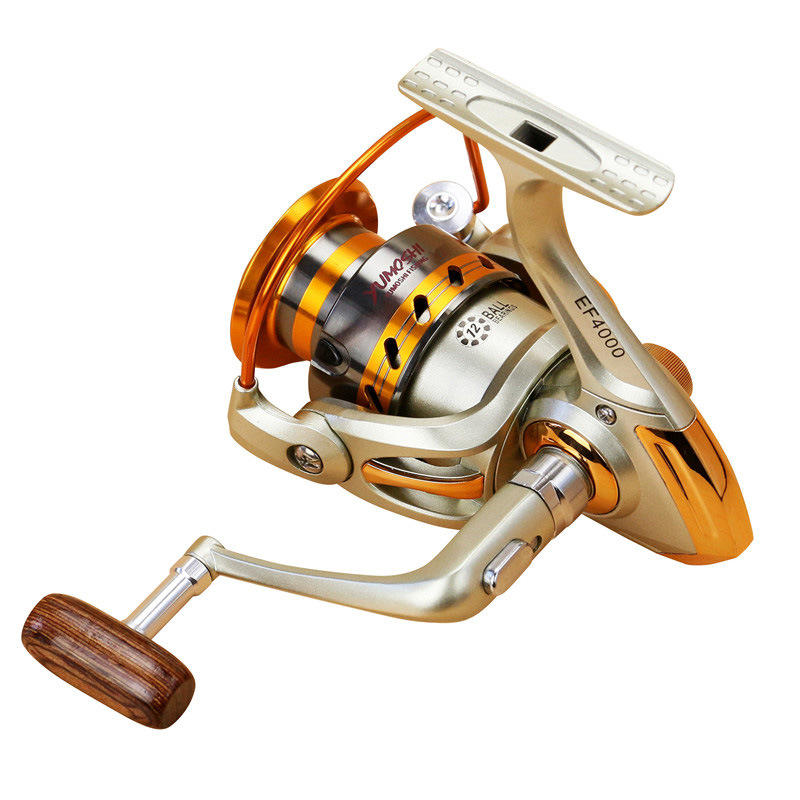 ZANLURE EF3000-6000 5.5:1 12BB Full Metal Spinning Reel Left/Right Hand interchange Fishing Reel - 3