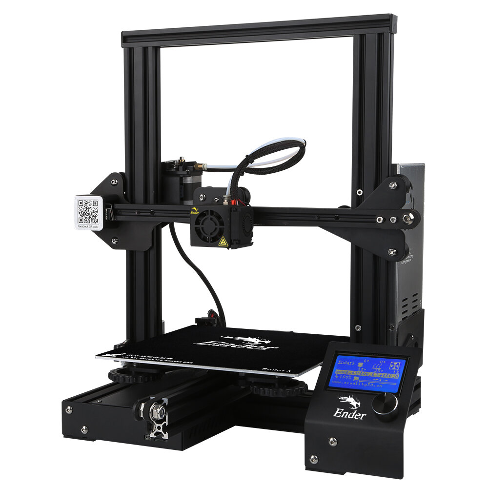 Creality 3D® Ender-3 V-slot Prusa I3 DIY 3D Printer Kit $179.99 SHIPPED!