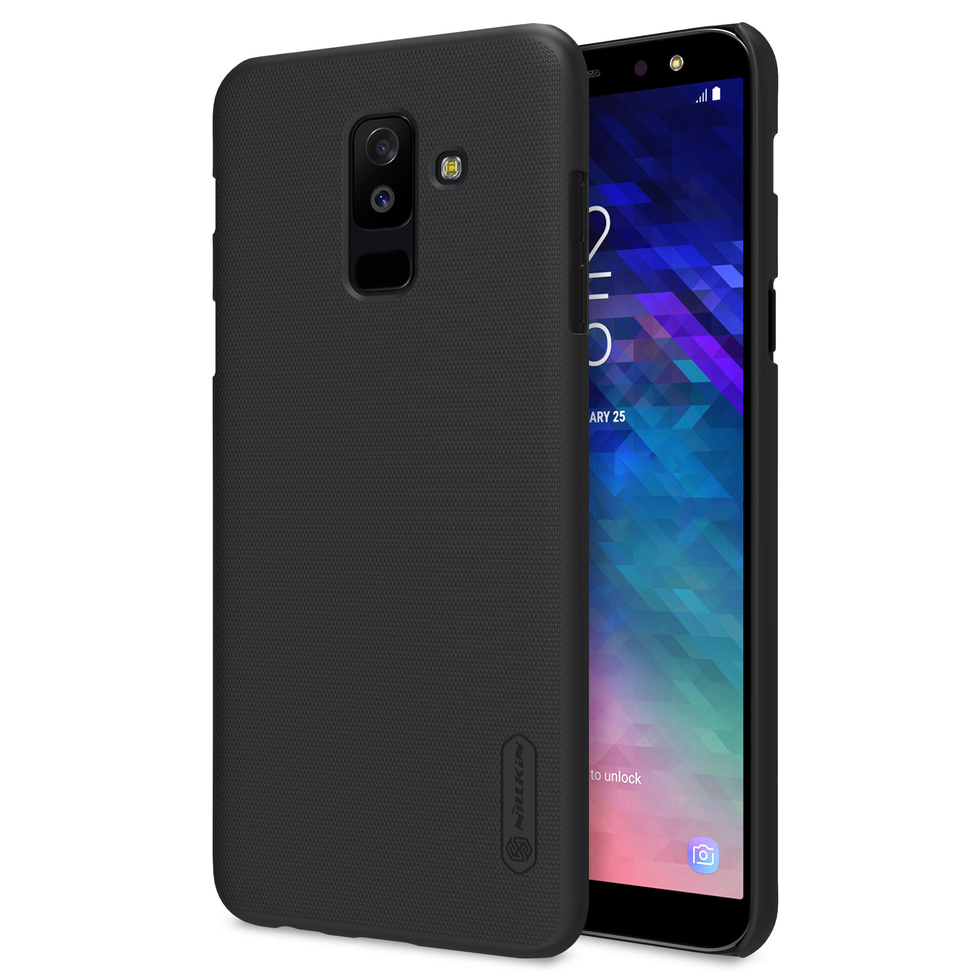 premium selection 9e553 172af NILLKIN Frosted Shield Hard PC Protective Case for Samsung Galaxy A6 Plus  2018