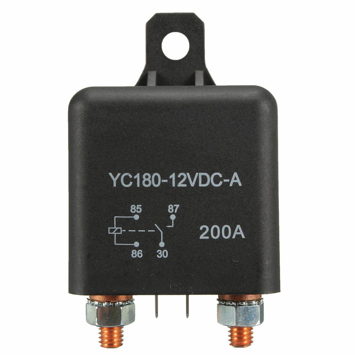 12V 200A Heavy Duty Split Charge ON/OFF Switch Relays Car Auto Boat 200Amp