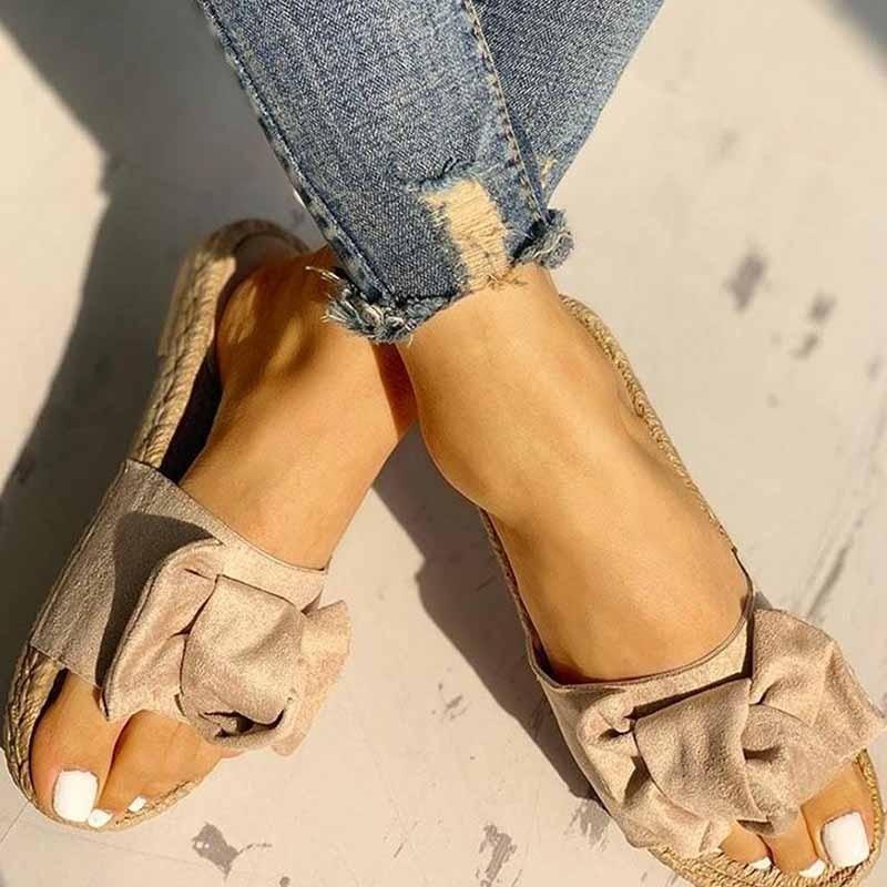 ЖенскаяПляжныйСандалииТапкиНескользящаяповседневная обувь Цветы Шаблон - 7