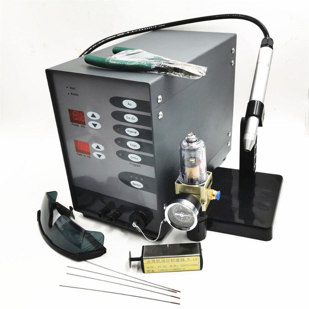 AC 110V/220V Stainless Steel Spot welding Machine Laser Welding Automatic Numerical Control Pulse Argon Arc Welder Jewel