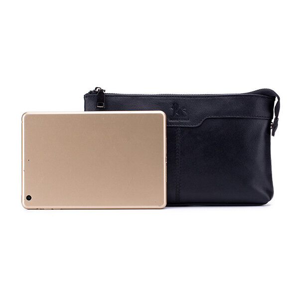Men Fashion Businesss Phone Bag Clutches Bag Zipper Long Wallet Bag - 12
