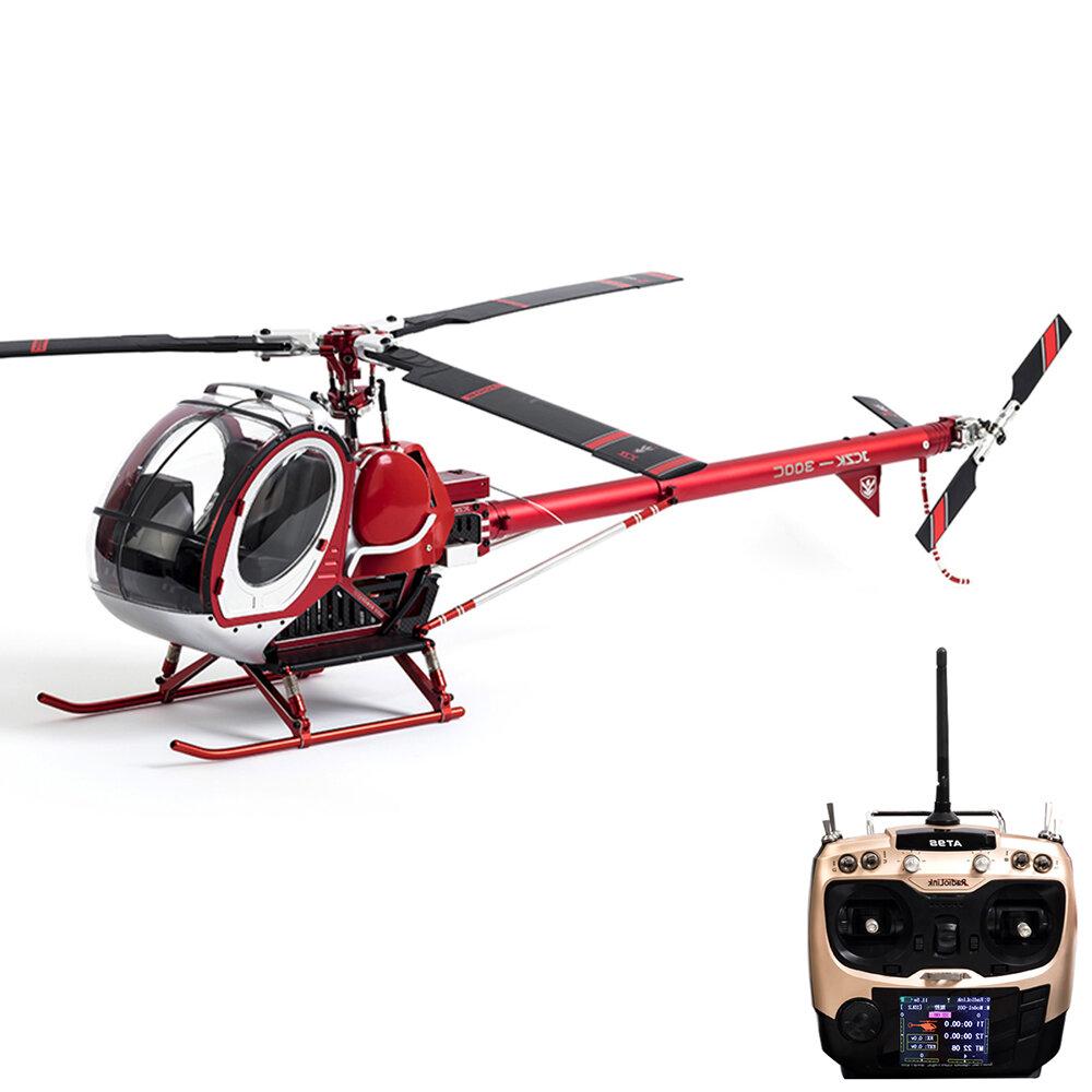 JCZK 300C 470L DFC 6CH 3D Three Blade Rotor TBR Super Simulation RC Helicopter RTF