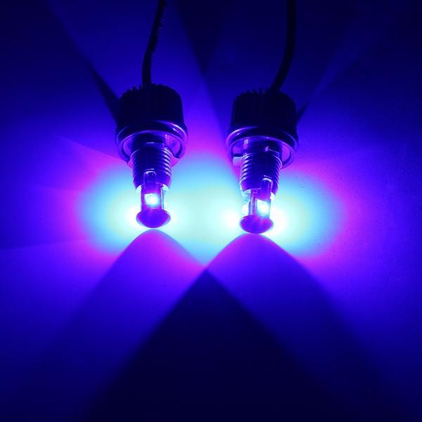2 x 6000K White 10w Angel Eyes LED Marker Light Lamp Bulbs for BMW E90 E91 - 6