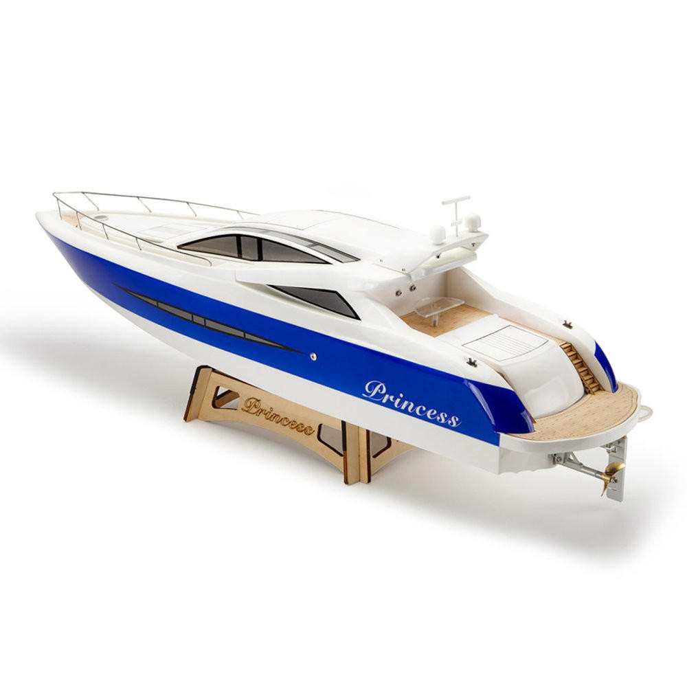 Tfl 1105 Princess 960mm 2 4g Glass Fiber Hull Electric Rc Boat W O Servo Transmitter Battery Charger