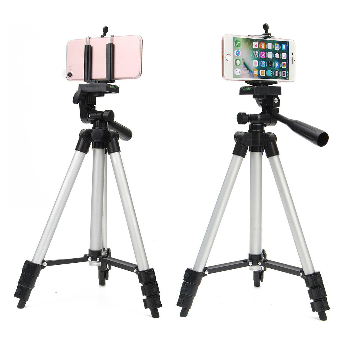 brand new 1c3c3 db398 Bakeey Professional Camera Adjustable Tripod Stand Holder Live Selfie Stick  for iPhone 8 Plus X S8 S9