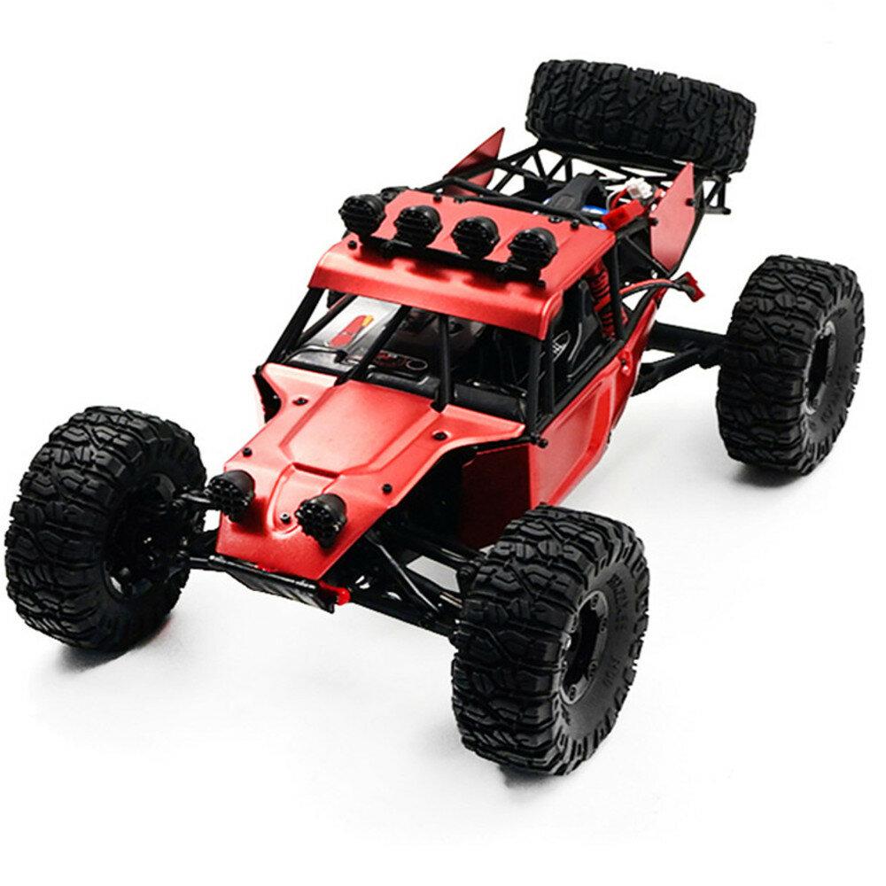 Feiyue FY03H 1/12 2.4G 4WD Brushless Rc Mobil Logam Body Shell Desert Off-road Truk RTR Mainan