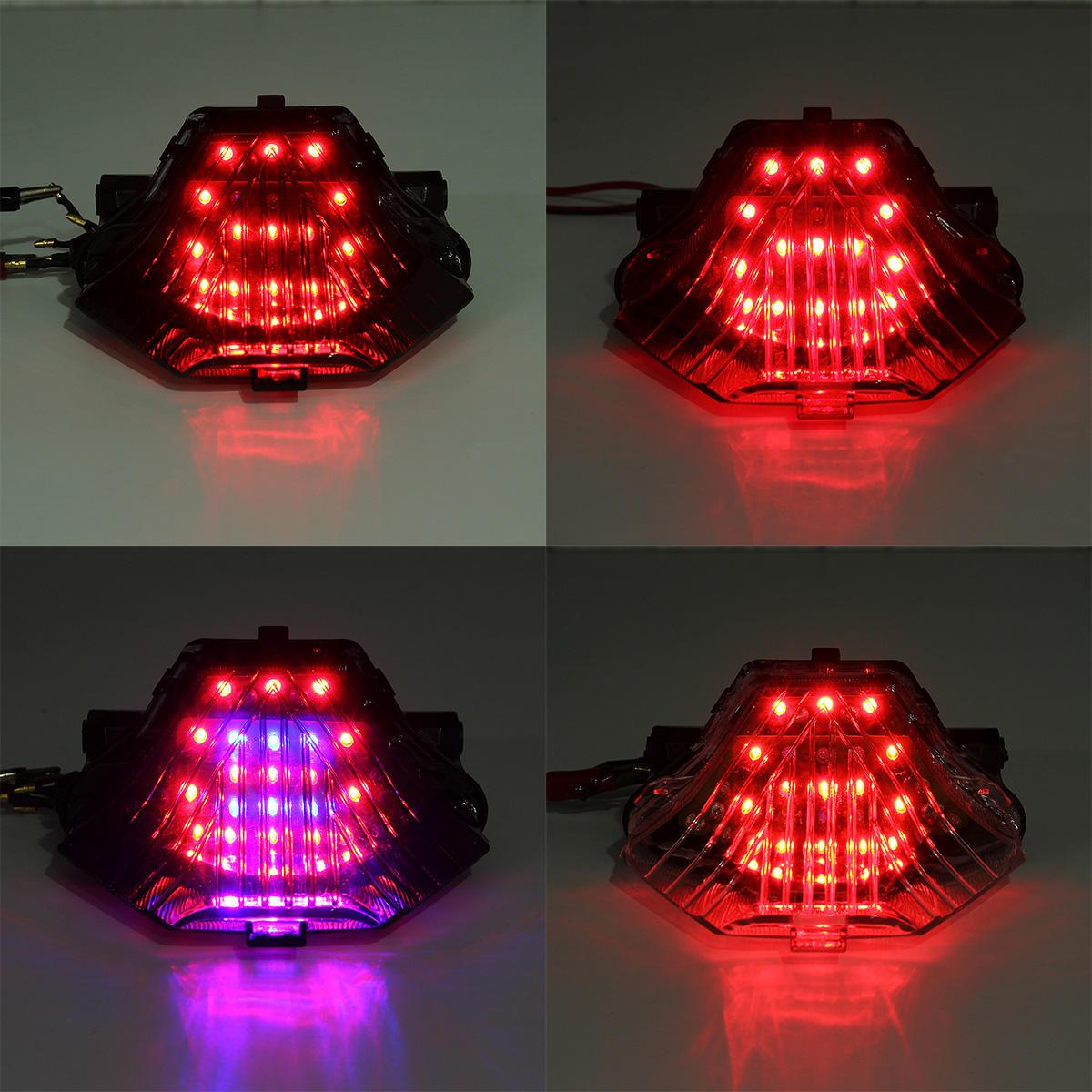 CNSUNNYLIGHT Car/Motorcycle LED Decoration Lights Emergency Signal Wings Lamp Projector Fog Warning - 2
