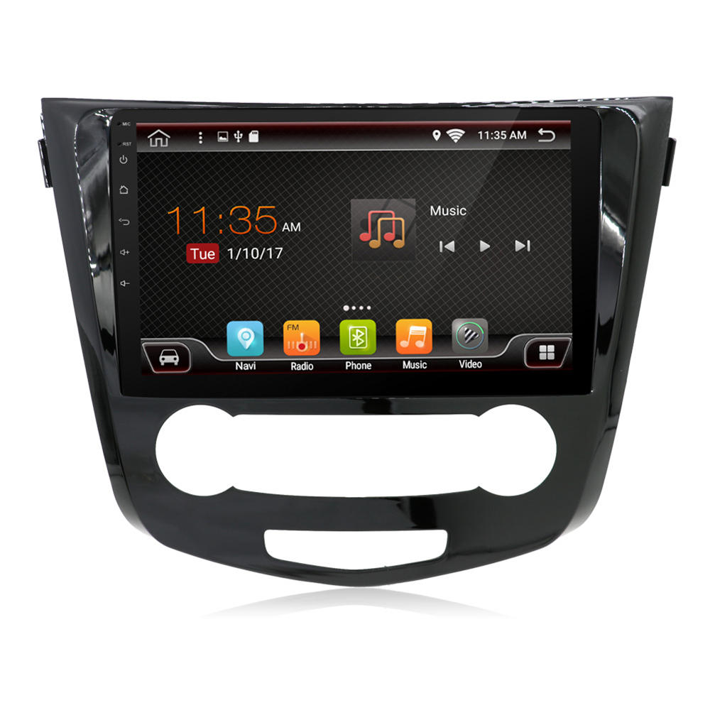 PX6 6 Core 10.1 Inch for Android 9.0 Car Radio 1Din 4+64G IPS MP5 Player GPS Navi 4G WIFI for Nissan X-Trail Qashqai